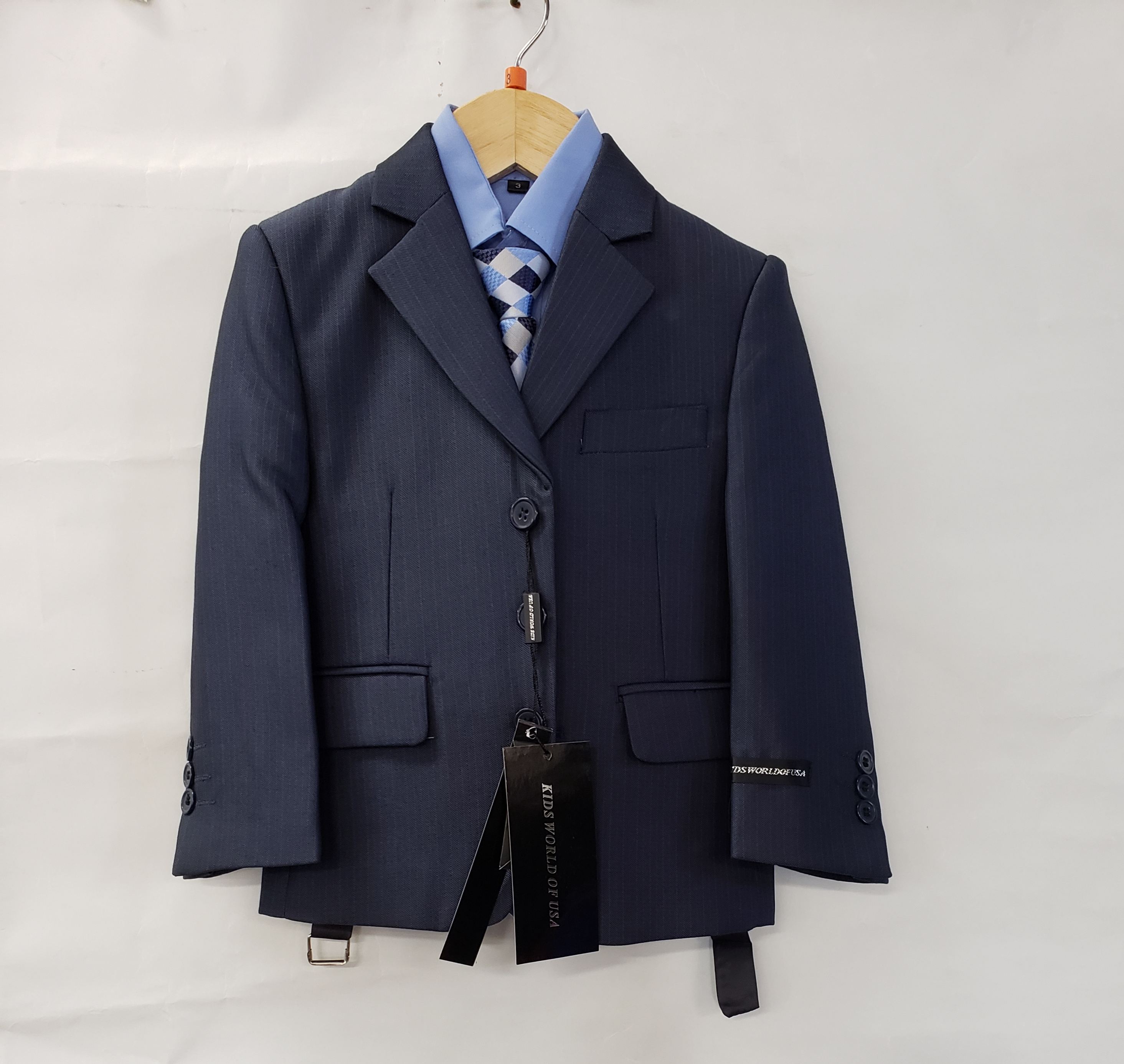Kids World Boys 5-Piece Suit