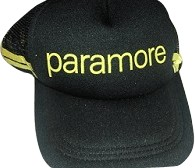 Black & Yellow Paramore  Cap