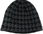 Reversible Grey and Black Beanie