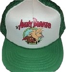 White & Green Angry Beavers Cap